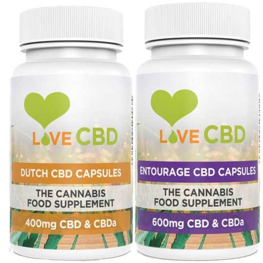 CBD Oil UK capsules