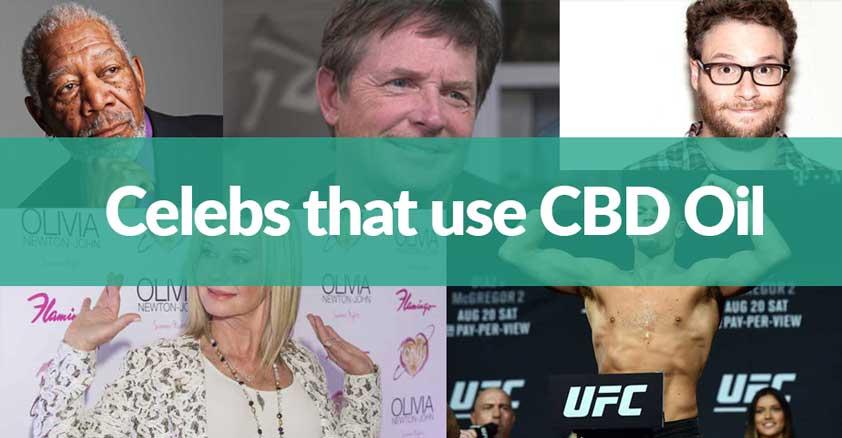 celebs cbd oil